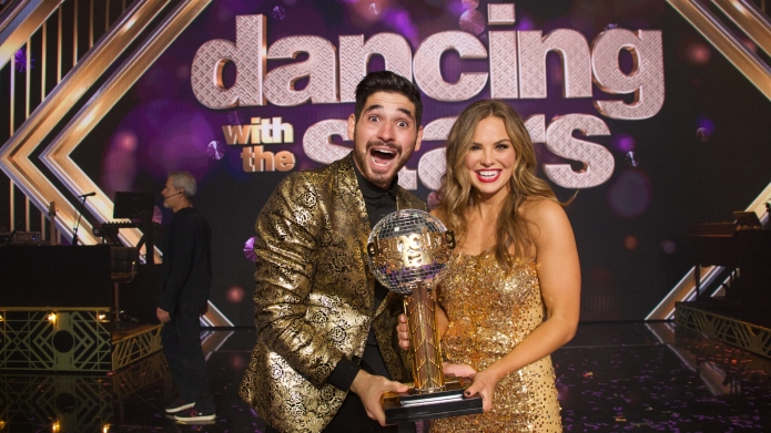 Hannah Brown and her 'DWTS' partner