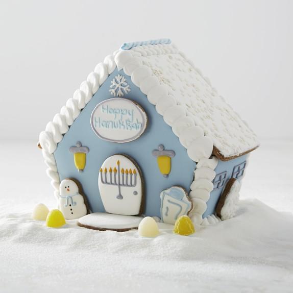Hanukkah Kid Gifts: Hanukkah Gingerbread House