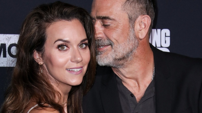 Hilarie Burton and Jeffrey Dean Morgan.