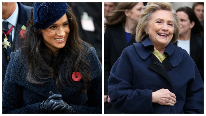 Meghan Markle invites Hillary Clinton to