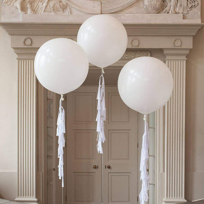 Oversized Balloons with Tassels