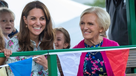 Kate Middleton and Mary Berry.