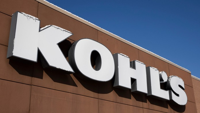 The signs of a Kohl's Department