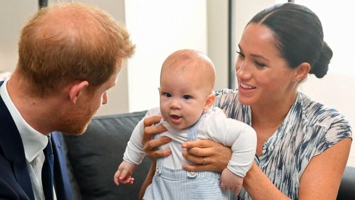 Prince Harry, Meghan Markle & baby