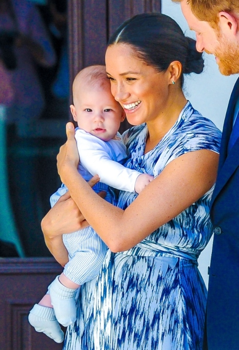 Meghan Markle & Baby Archie.