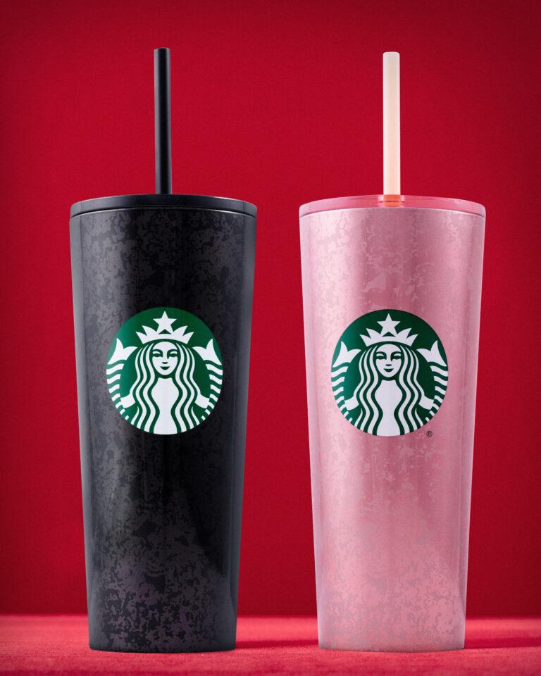 Starbucks mercury flake cold cups
