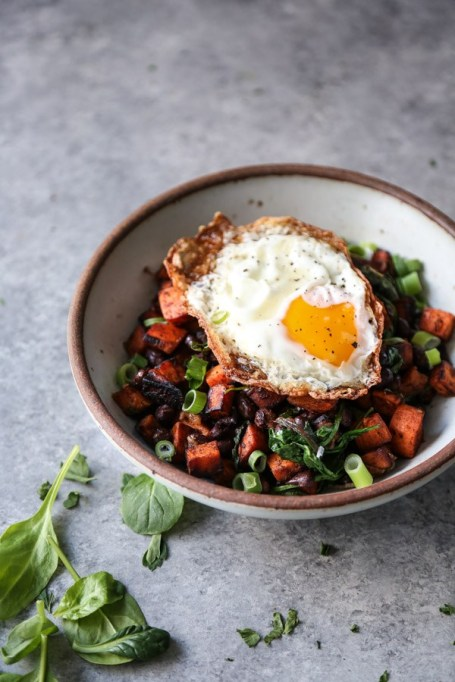 Mexican Sweet Potato Hash.