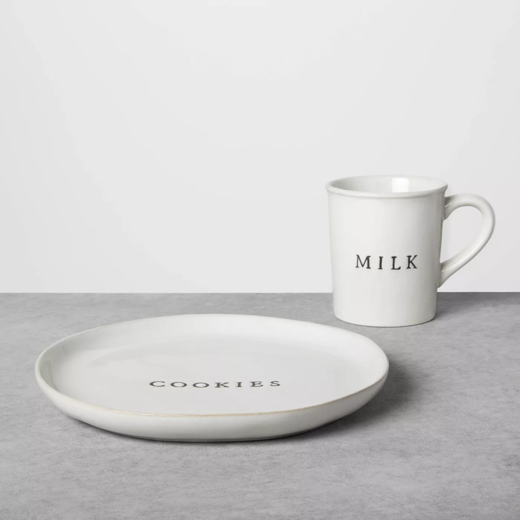 Hearth & Hand™ with Magnolia Cookie Plate & Milk Set