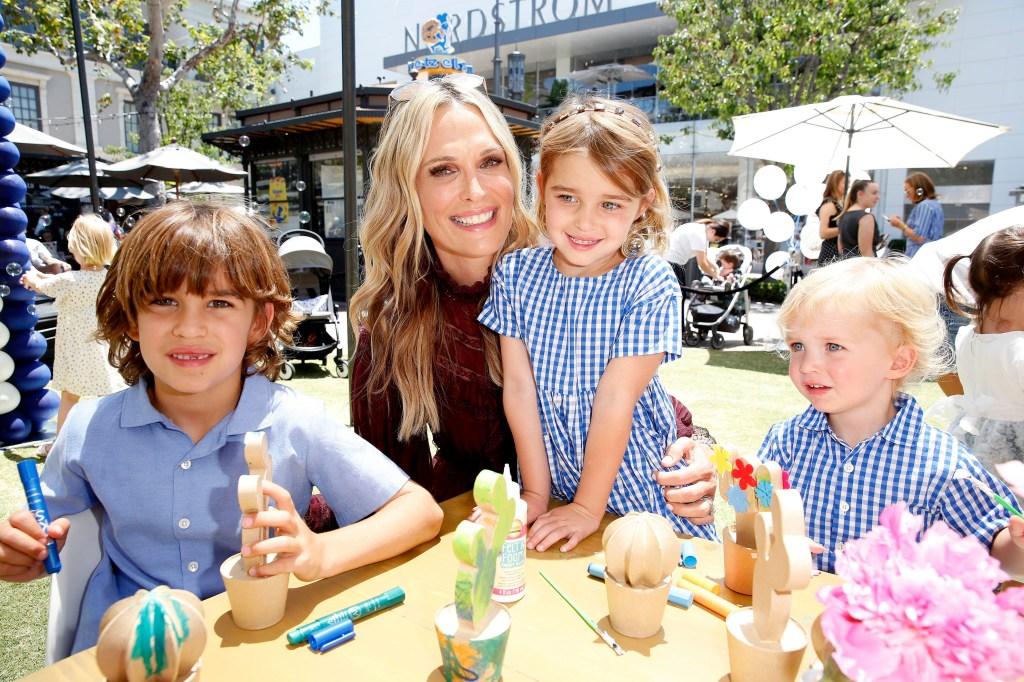 Molly Sims with her children Scarlett May Stuber, Grey Douglas Stuber and Brooks Alan StuberNordstrom x Maisonette Celebrate Pop-In Launch, Los Angeles, USA - 09 Jun 2019