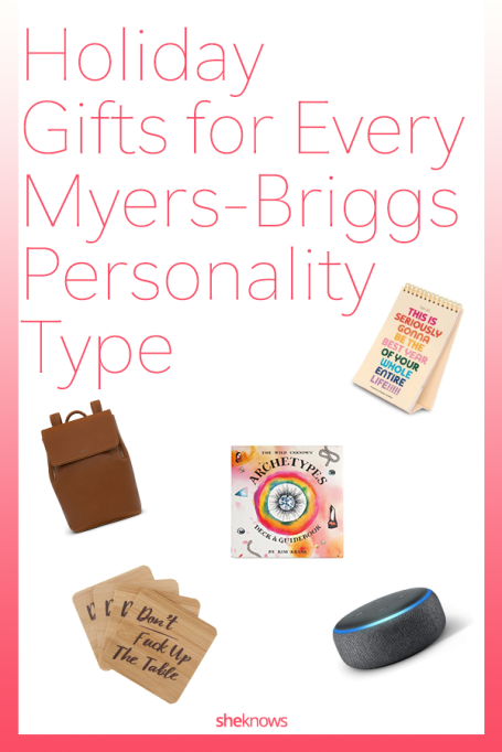Holiday Gifts for Myers-Briggs Personality Type