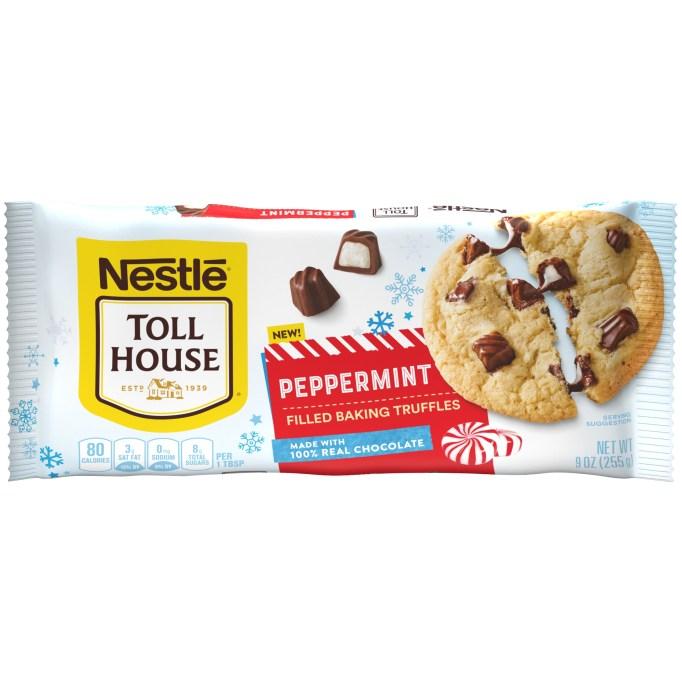 NESTLÉ TOLL HOUSE Peppermint Filled Baking Truffles
