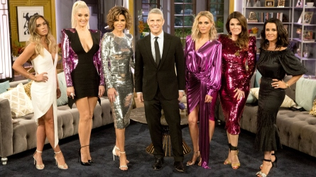 Andy Cohen and 'RHOBH' cast.