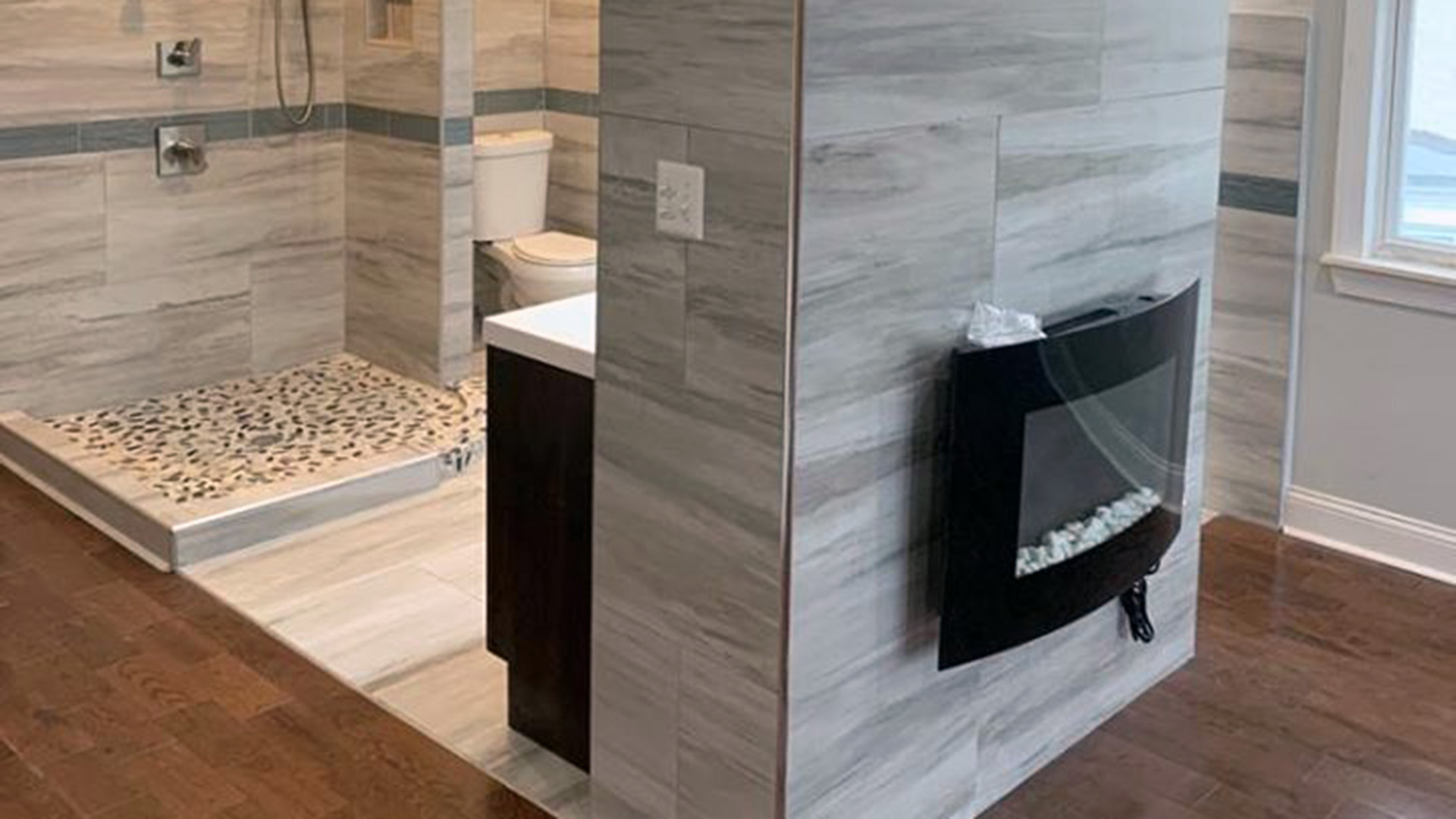 Open Concept Bathrooms Are A Thing It, Open Concept Bathroom