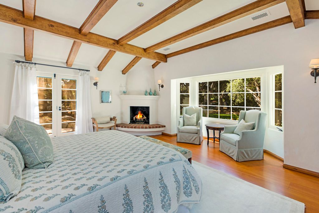 Oprah's New Montecito Bedroom
