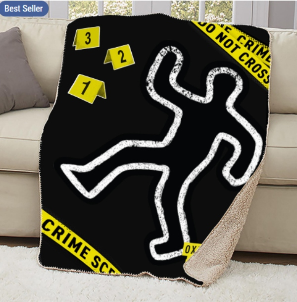 Oxygen Crime Scene Blanket.