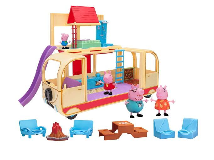 Amazon Black Friday Toy Deals: Peppa Pig's Transforming Campervan Feature Playset