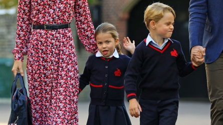 Princess Charlotte and Prince George.