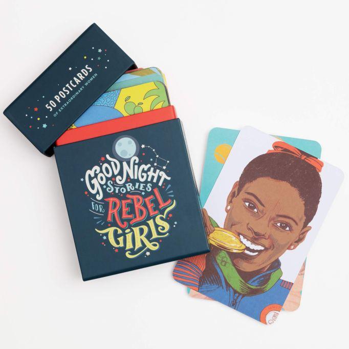 Hanukkah Kid Gifts: Rebel Girls Postcards