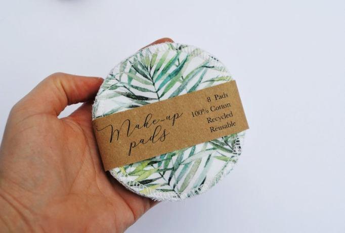 Zero-waste cotton makeup pads