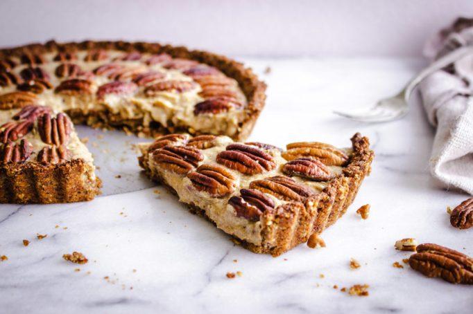 Salted Vegan Gluten-Free Pecan Pie