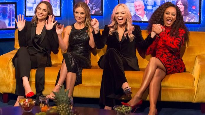Spice Girls Mel C, Geri Horner,