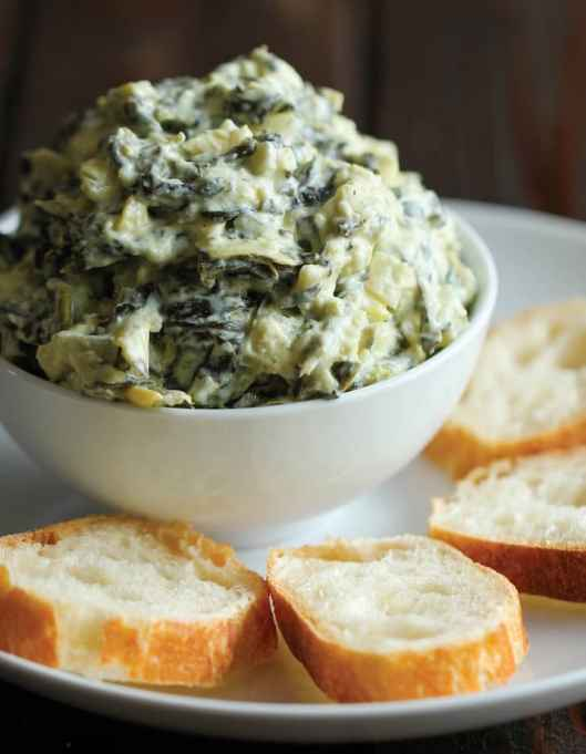 Slow Cooker Spinach-Artichoke Dip