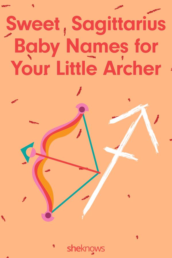 Sagittarius baby names