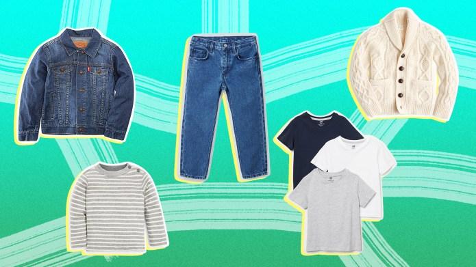 Kid capsule wardrobe basics