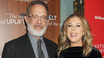 Tom Hanks and Rita Wilson.
