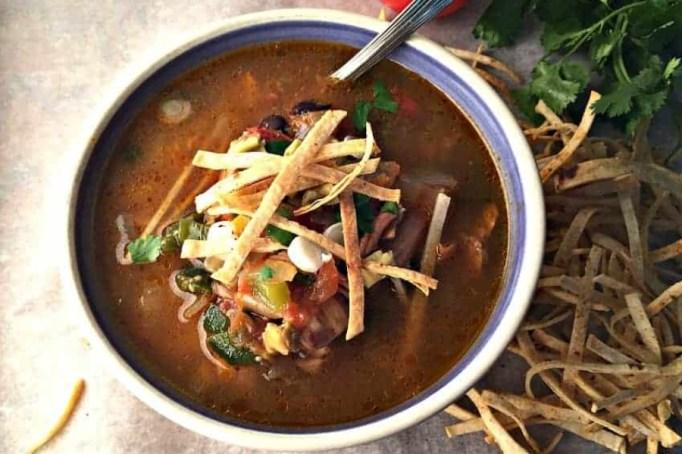 Turkey Tortilla Soup.