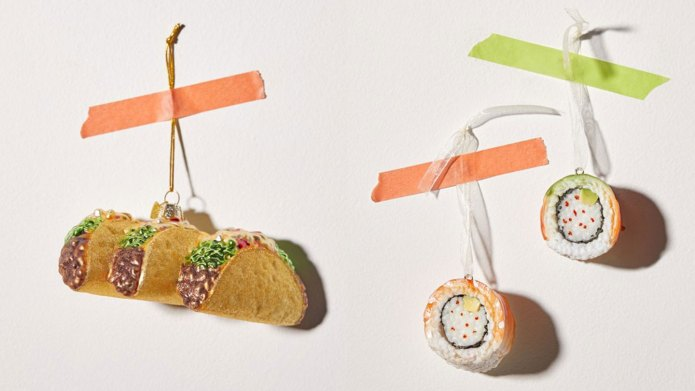 UO food ornaments