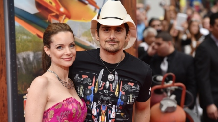 Kimberly Williams-Paisley and Brad Paisley.