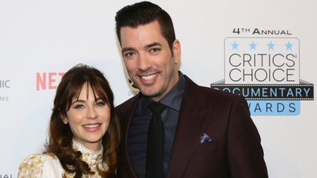 Zooey Deschanel & Jonathan Scott.