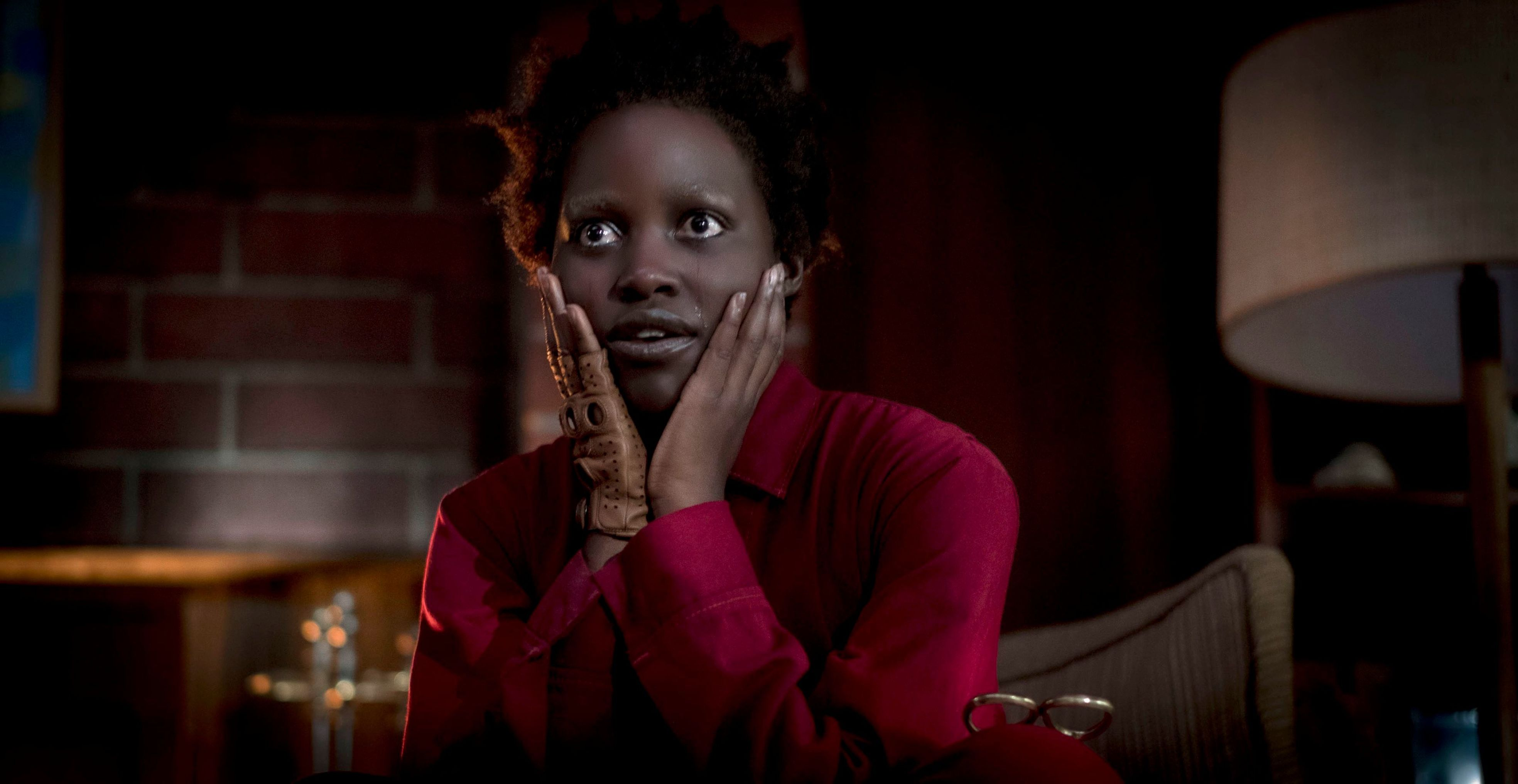 Editorial use only. No book cover usage.Mandatory Credit: Photo by C Barius/Universal/ILM/Kobal/Shutterstock (10162635l) Lupita Nyong'o as Red 'Us' Film - 2019 A family's serenity turns to chaos when a group of doppelgängers begins to terrorize them.