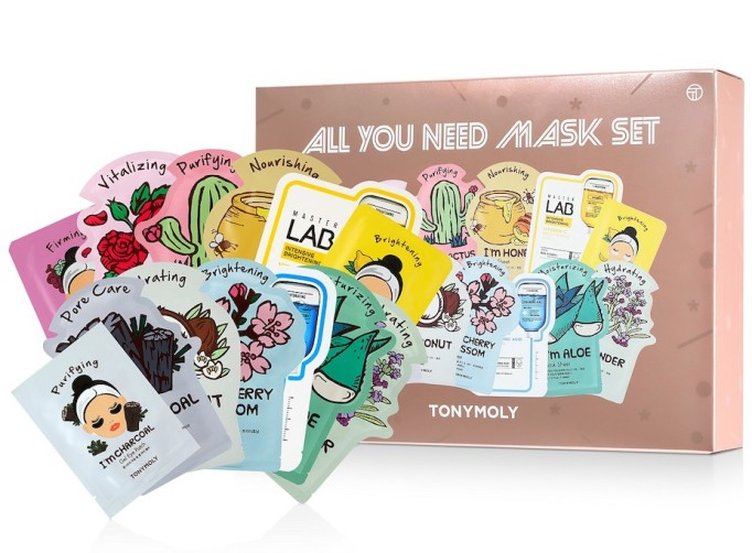Holiday Gifts Even Angsty Teens Will Love: Tony Moly All You Need Mask Set