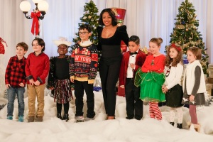 """KIDS SAY THE DARNDEST THINGS - """"Santa's Got a Six Pack"""" - On a special holiday episode, Tiffany chats with kids about their favorite holiday traditions. Later, Tiffany plays Santa's helper to find out who is on the """"nice list"""" and celebrates an 8-year-old magician who proves that big tricks can come in small packages on an all-new episode of """"Kids Say the Darndest Things,"""" airing SUNDAY, DEC. 22 (8:00-9:00 p.m. EST), on ABC. (ABC/Giovanni Rufino)TIFFANY HADDISH"""