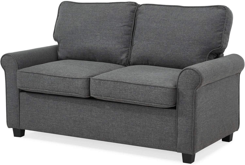Mainstay Sofa Sleeper with Memory Foam Mattress