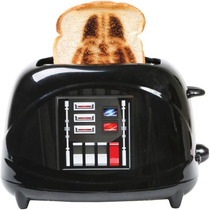 'Star Wars' Gift Idea: Darth Vader 2-Slice Toaster