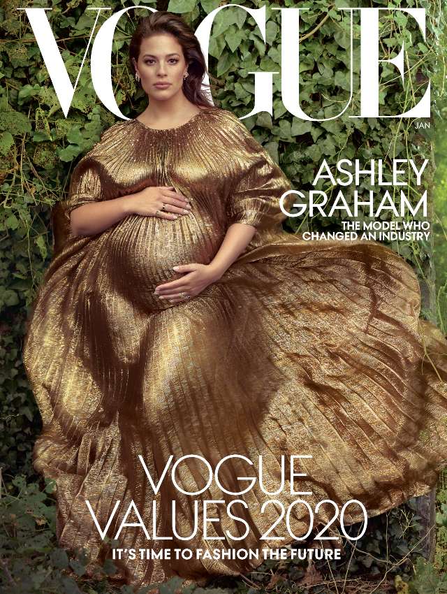 Ashley Graham Vogue January 2020 Cover