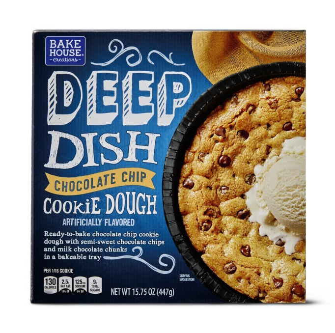 Deep-dish chocolate chip cookie dough