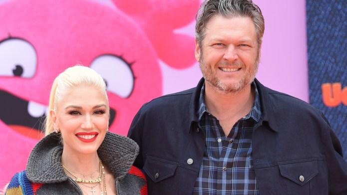 Blake Shelton and Gwen Stefani are
