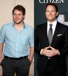 Chris Pratt transformation