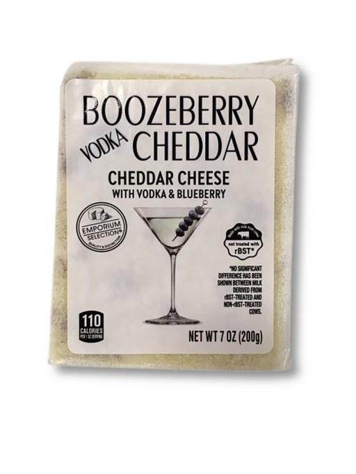 Boozeberry vodka cheddar