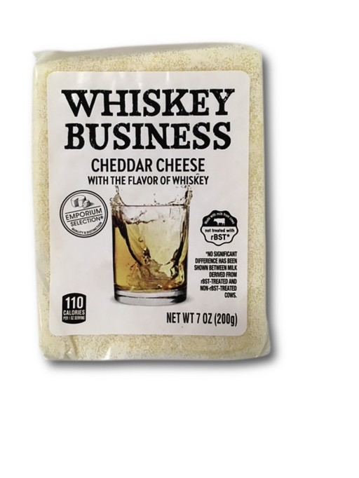 Whiskey Business cheddar cheese