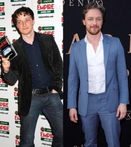 James McAvoy transformation