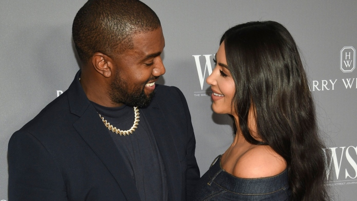 Kim Kardashian and Kanye West reveal