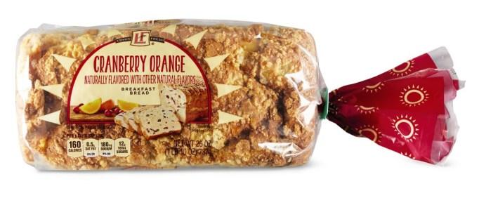 L'oven Fresh cranberry orange bread