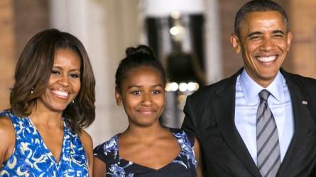 Michelle Obama talks about Sasha's 'emotional'