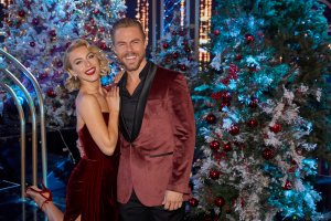 HOLIDAYS WITH THE HOUGHS -- Pictured: (l-r) Julianne Hough, Derek Hough -- (Photo by: Trae Patton/NBC)