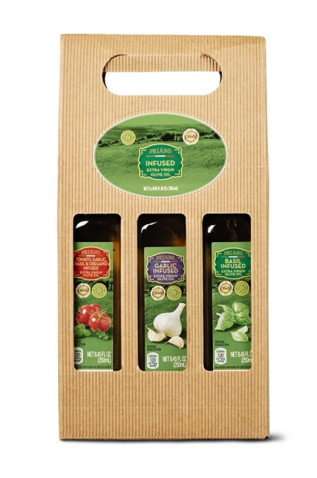 Priano infused EVOO gift set